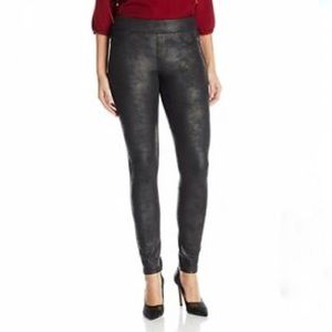 Liverpool Sienna Pull On Leggings Faux Leather